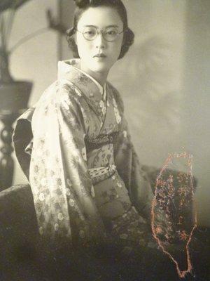 191121~日據時期~和服少女~相關特殊(一律免運費---只有一張)老照片