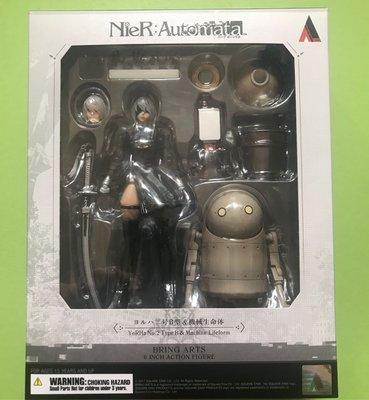 Square Enix Bring Arts NieR:Automata 尼爾 YoRHa 2B & Machine Lifeform 機械生命體