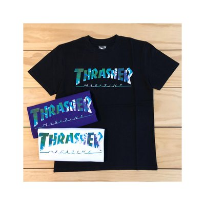 ☆ETW☆【一中店】日線 THRASHER TIE DYE S/S T-SHIRT 渲染 短T 現貨