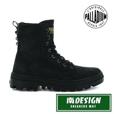 南◇2020 12月 PALLADIUM PALLABOSSE OFF WAXY帆布軍靴 黑色 96451-008 女款