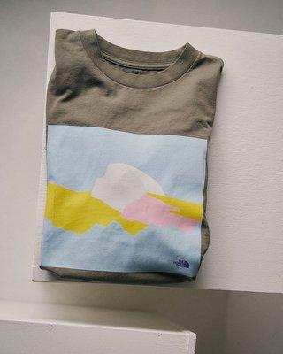東京蛋蛋日本代購THE NORTH FACE 北面紫標短袖T恤 男女款 日本制