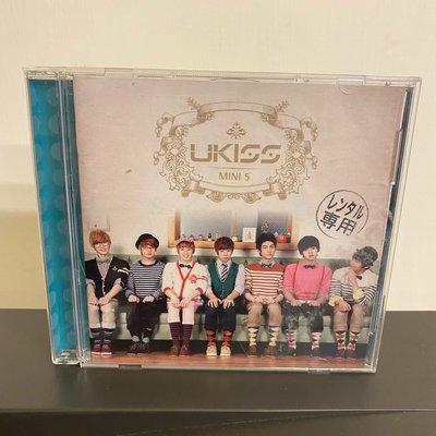 U-KISS韓國團體Bran New KISS CD專輯