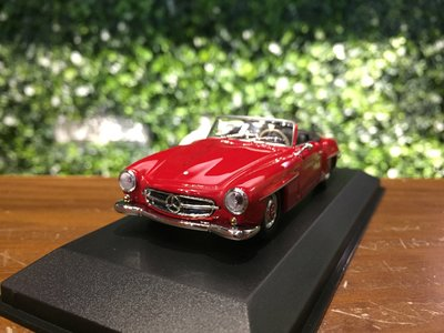 1/43 Minichamps Mercedes-Benz 190 SL 1955 Red【MGM】