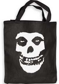 THE MISFITS FIEND SKULL TOTE BAG 環保袋 全新進口 背包