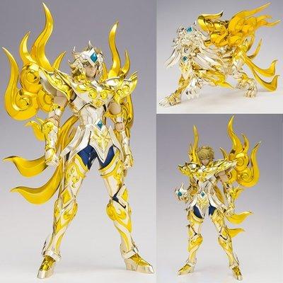 現貨 BANDAI 代理版 聖鬥士星矢 聖衣神話EX 黃金魂 神聖衣 獅子座 艾奧里亞 全新