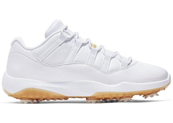 【美國鞋校】預購 Jordan 11 Retro Low Golf White AQ0963-102 籃球鞋