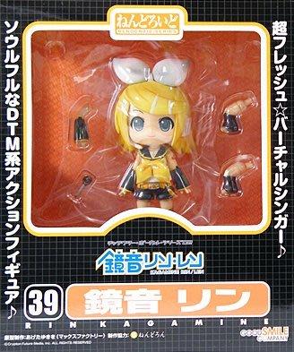 日本正版 GSC 黏土人 初音未來 鏡音鈴 可動 模型 公仔 日本代購