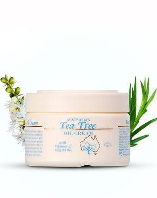 澳洲代購-G&M Tea Tree Oil Cream 茶樹精油霜(250g)。
