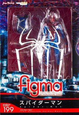 日本正版 figma 蜘蛛人 可動 模型 公仔 日本代購