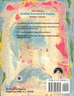 Graded Exercises in English: Grammar-based Oral Skills Class