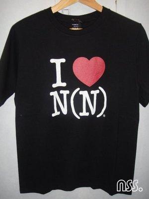 特價「NSS』NUMBER (N)INE NINE N9 I LOVE N(N) 紅愛心 2 M