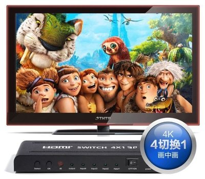 2/4k 高階版 HDMI切換器 分配器 四進一出 4進1出 ps3 ps4 xbox MOD MHL線 HDMI線