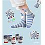 ANLIFE》可愛動物中筒襪 立體圖案棉襪短襪女...
