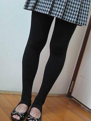 LNN 製 保暖 加厚九分內刷毛褲襪 伸縮褲襪 內搭褲襪 全素色140丹 三色