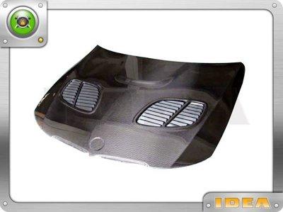 泰山美研社A1009 BMW E90 05-08 GTR 引擎蓋*CARBON*
