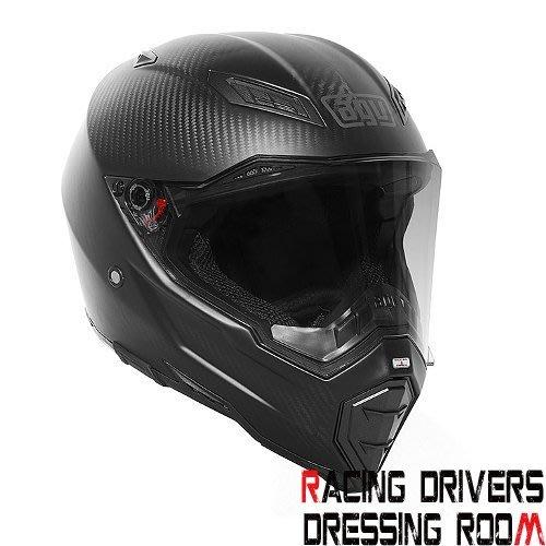 ♚賽車手的試衣間♚ AGV® AGV AX-8 Naked Carbon  街車 越野 滑胎 安全帽