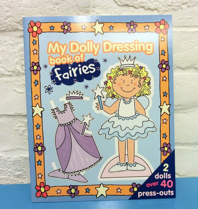[兒童英語繪本]-- --小仙女換裝囉~My Dolly dressing book of Fairies