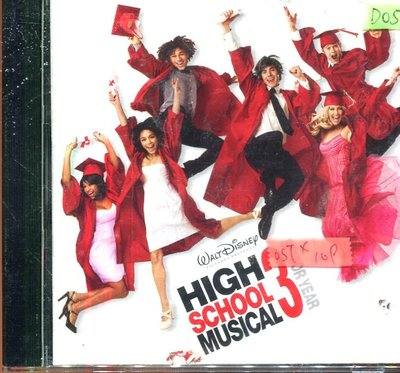 *還有唱片四館* HIGH SCHOOL MUSICAL 3SENIOR YEAR 二手 D0517(封面底破)