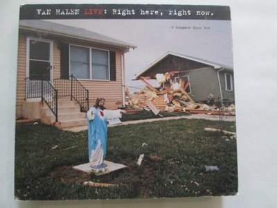 CD~Van Halen Live: Right Here, Right Now(二張一套.9成新無刮傷).