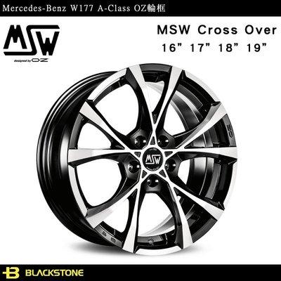 [黑石研創] Benz W177 A-Class OZ MSW Cross Over 鋁圈 輪框 輪圈 【K1304】