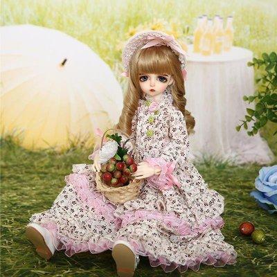 玩偶娃娃 Leeke Mikhaila 4分bjd sd娃娃 玩偶 高檔玩偶 送禮佳品