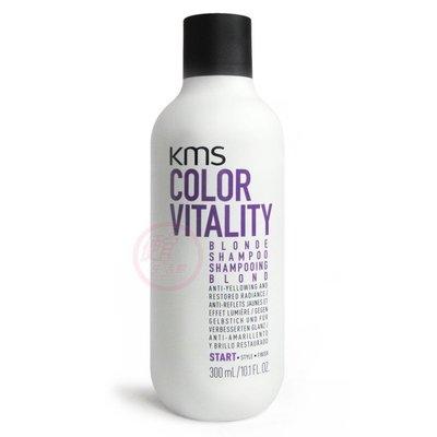 便宜生活館【洗髮精】KMS 矯色洗髮精300ml 針對染後護色與冷色系專用 全新公司貨 (可超取)