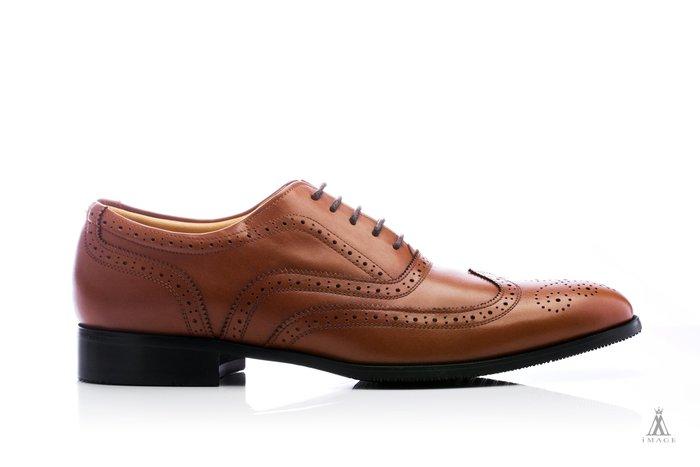 SIMPLE IMAGE(台灣製造)咖啡色牛津鞋a430