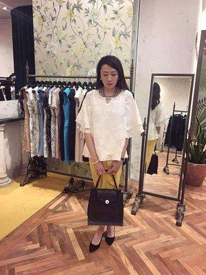 日本貴婦品牌grace continental超美花朵上衣