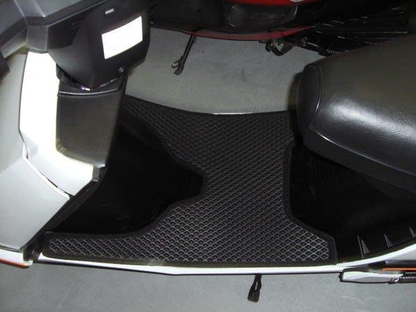 GT EVO 125*TECHNO鐵克諾*名流雙層止滑減震機車腳踏墊底部有防滑顆粒不需鎖螺絲