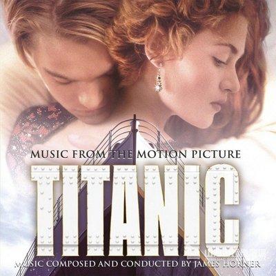【進口版】鐵達尼號 電影原聲帶 Titanic / 詹姆斯霍納 James Horner ---SK63213