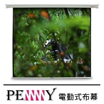 適用會議教學使用~台灣專業保固PENNY PS-90 (1:1)90吋電動布幕 安裝簡易