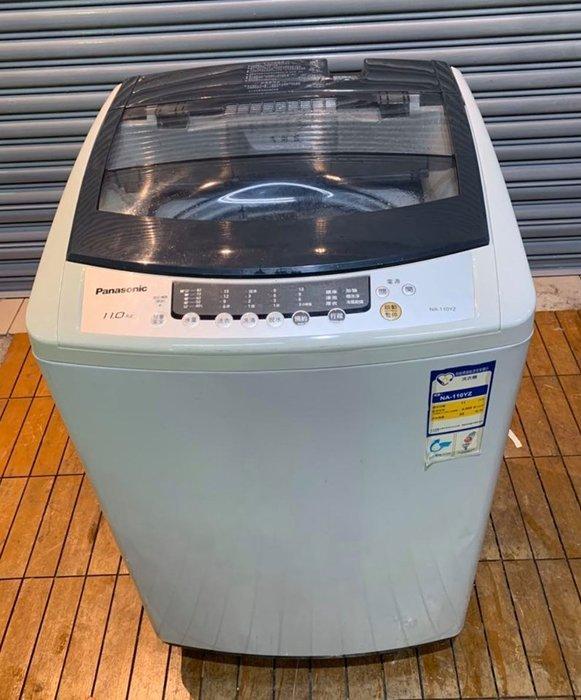 台中2手傢俱【樂居二手家具館】AM0421EJJH 國際Panasonic洗衣機 11公斤 脫水機 烘乾機 基隆/台北
