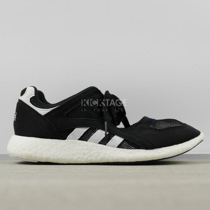 KS▸ADIDAS W EQT RACING 91/16 BOOST 黑白 網布 娃娃鞋 1609【S79740】