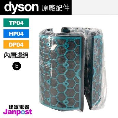 【建軍電器】盒裝 現貨 原廠 Dyson TP04 HP04 DP04 活性碳 濾網(內層)