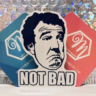 悠遊伴旅 - 黑白系列 - Not Bad 表情造型悠遊卡 一卡通 iCash2.0 禮贈品 交換禮物 生日 情人 客製