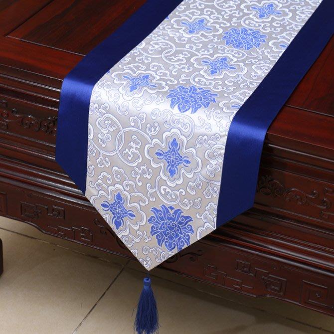 衣萊時尚 古典桌旗蓋布織錦緞茶幾布藝中式美式歐式現代圓形餐桌布餐墊套裝(多規格價格不同諮詢客服喔)
