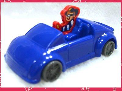 【小逸的髮寶】麥當勞2012年玩具~漢堡神偷迴力跑車!