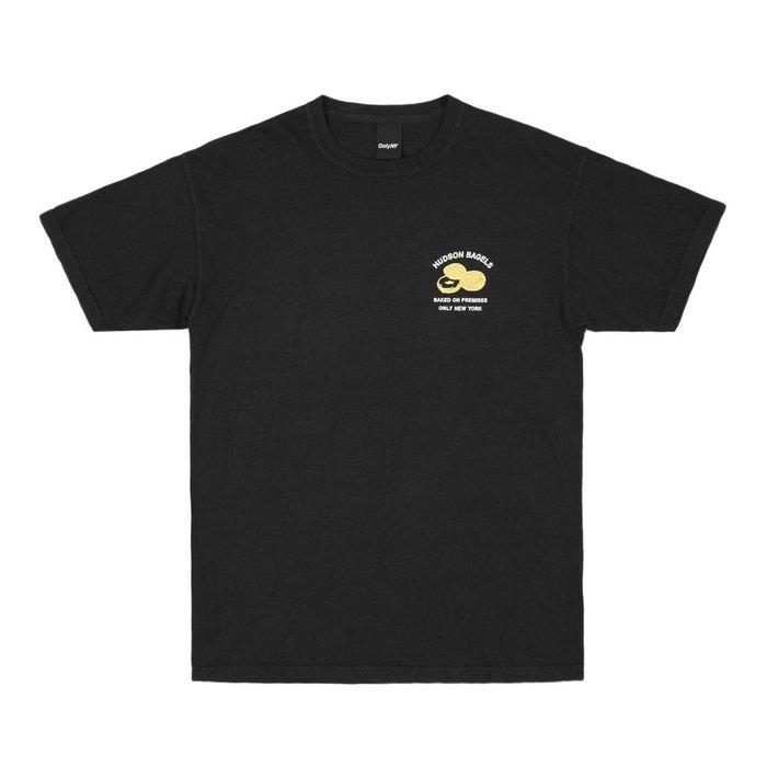 《 Nightmare 》ONLY NY Hudson Bagels T-Shirt - Vintage Black