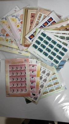 台灣郵政小版張,含特503,504,505,506,507,510,512,514,522,524,,(2612) 全品