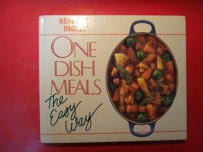 【愛悅二手書坊 23-06】One Dish Meals The Easy Way