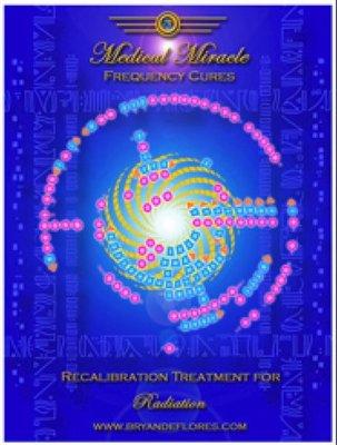 [心靈之音]#294 輻射/放射物 Radiation Cure-醫學奇蹟模版能量催化圖-原裝進口中文說明