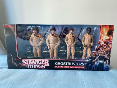 McFarlane Netflix 怪奇物語 Stranger Things Ghostbusters Dustin Mike Will Lucas