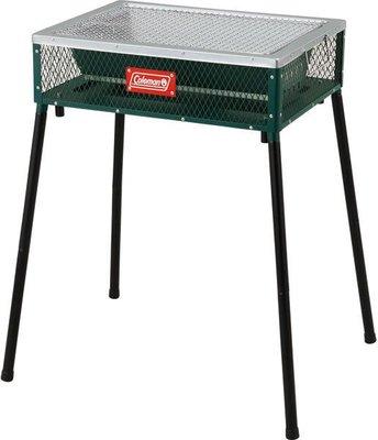 【山野賣客】美國 Coleman 極致品味 兩段式輕量烤肉箱 烤肉架 桌上型烤箱 CM-9369