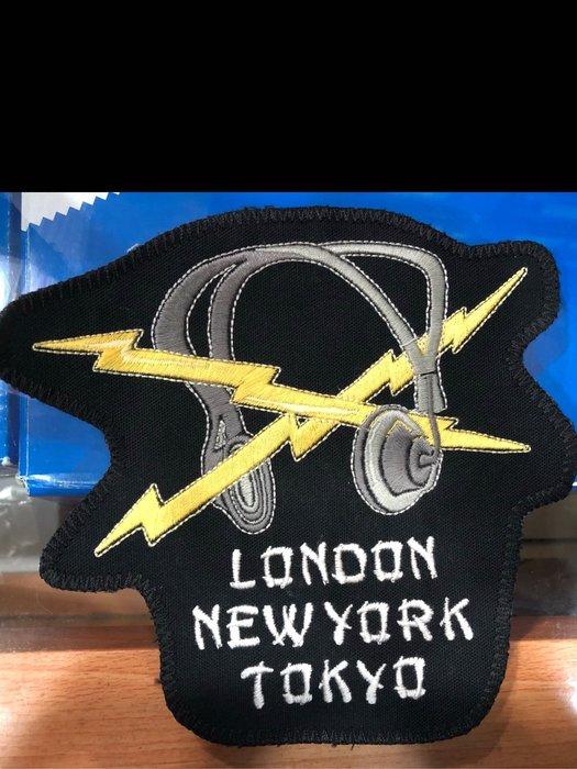 【NSS】NEIGHBORHOOD NBHD NOISE C PATCH 閃電 耳機 貼布
