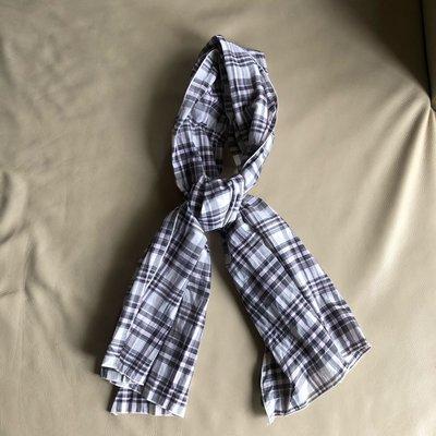 [熊熊之家3]保證全新正品 Dolce&Gabbana DG 淡粉紅和黑白格紋 領巾  圍巾