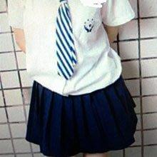 (下標前~請告知尺寸)╭*水手服專賣店* 台北三峽 明德高中 (國中部)夏季學生制服一套