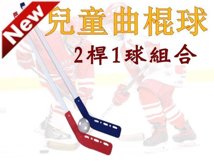 [兩桿一球] 運動平地曲棍球 直排輪曲棍球 室內曲棍球運動 溜冰 草地曲棍球 冰球 親子互動玩具 兒童街頭曲棍球組