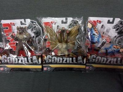 全新 Godzilla 哥斯拉 王者巨獸 怪獸 三款 三頭龍 (王者基多拉)西薩王 魔斯拉 King Ghidora Caesar Mothra 2019