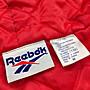 90s vintage Reebok 防風鋪棉連帽外套