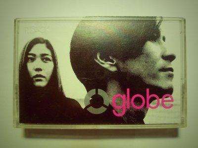 globe 小室哲哉玩band 台版滾石魔岩卡帶,錄音帶 側面有摺痕 feel like dance 好聽 含歌詞本